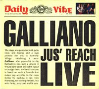 Galliano-1992-Jus' reach (Live) [Maxi Cd]