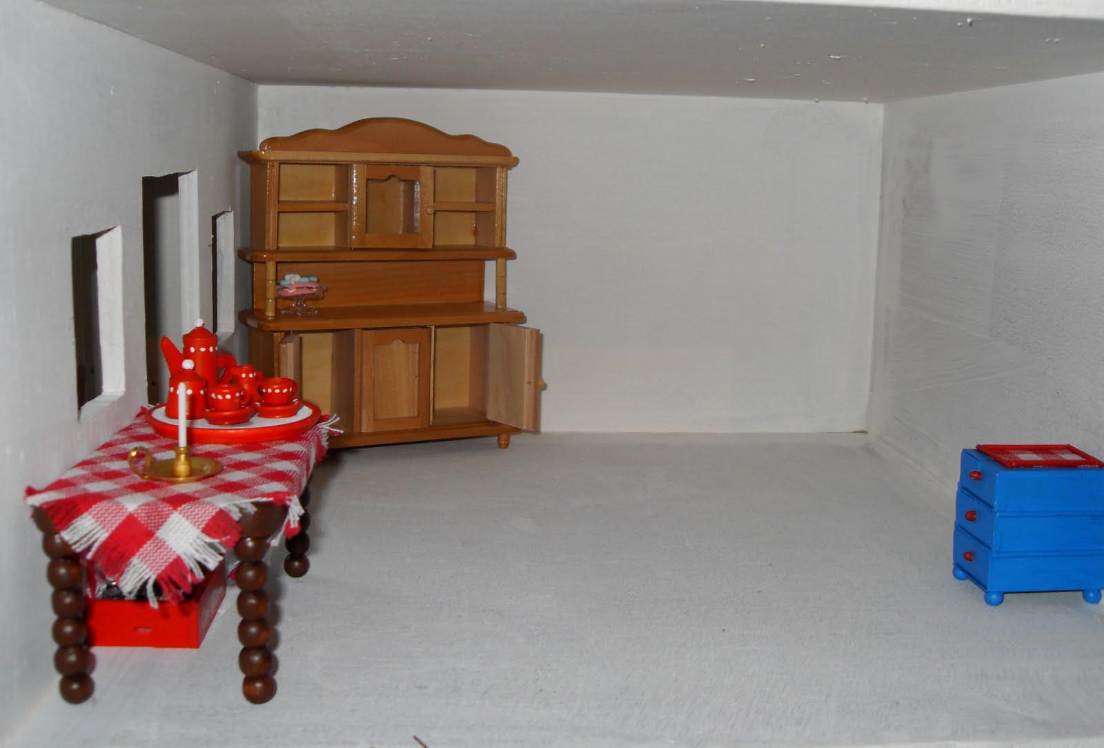 Eilandtuin in miniatuur mijn 1ste huis de keuken for Poppenhuis bouwen