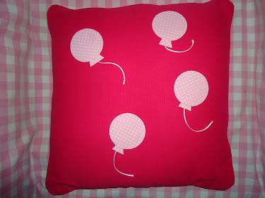 Almofada Balões