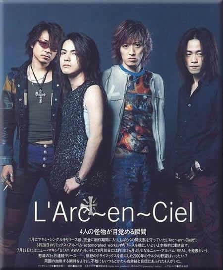 L'Arc~en~Ciel, grup band, biografi