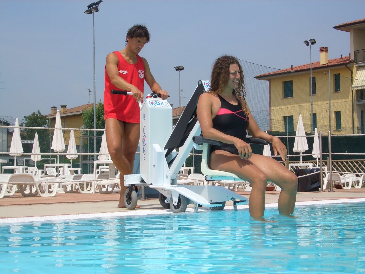 Mobility Products For Disabled People Portable Pool Lifts