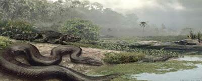 Serpiente Titanoba cerrejoensis