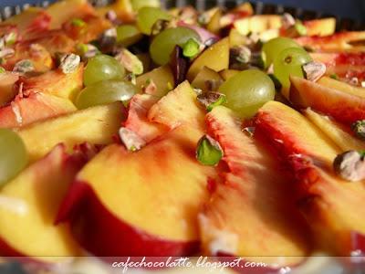 1 Yazın Son Meyveleri ve Nektarinli Tart