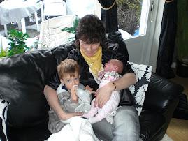 Bestemor May-Britt, onkel Sander og meg