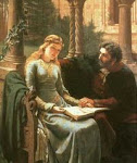 Pedro Abelardo e Heloísa (seg. met. do século XI e  primeira met. do séc. XII)