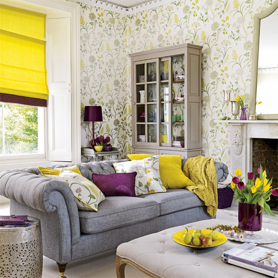 Shades Of Design Today 39 S Shade Purple Yellow Grey Cream