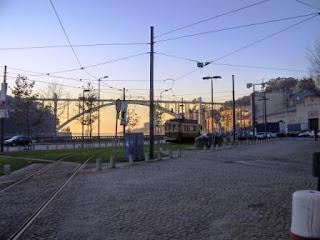 Ponte da Arrábida / Carro Eléctrico