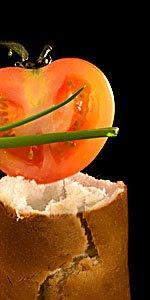 pain et tomate