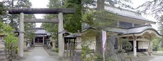 松岬神社と稽照殿