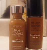 A Plethora of Beauty: L'Oreal True Match and Revlon Colorstay ...