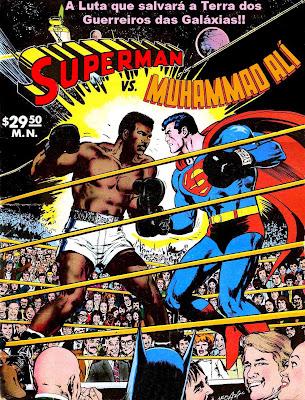 Superman.Vs [Quadrinhos] Superman vs Muhammad Ali, Pernalonga vs Hommer Simpson