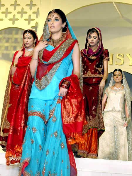 Pakistan Bridal Designs Pakistani Wedding Dress November 2009