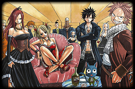 les selections manga  Fairy+tail