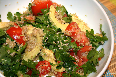 Trembom - English version: Tomato, Quinoa, Chillie, Lime and Avocado