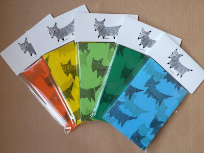 Mr, fox, colourful, notebooks, melody, seal, melodyseal, illustration