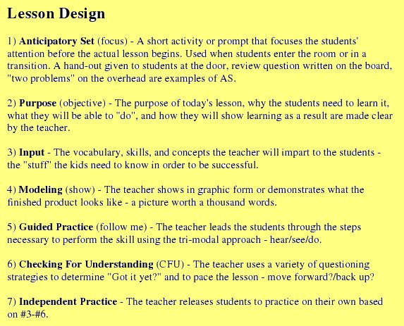 Madeline Hunter Lesson Plan Template Madeline Hunter Lesson Plan - Fresh madeline hunter lesson plan template concept