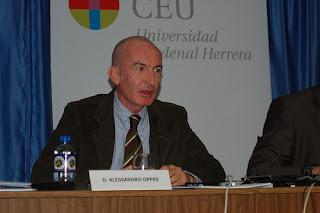 Alessandro Oppes en las III Jornadas de Periodismo Digital, Elche