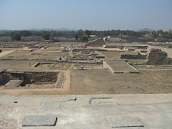 View from platform-like Harappan ruins