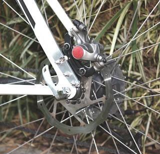 Adaptação para freio a disco traseiro na Trek 820, foto 1