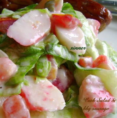 Crabstick Salad
