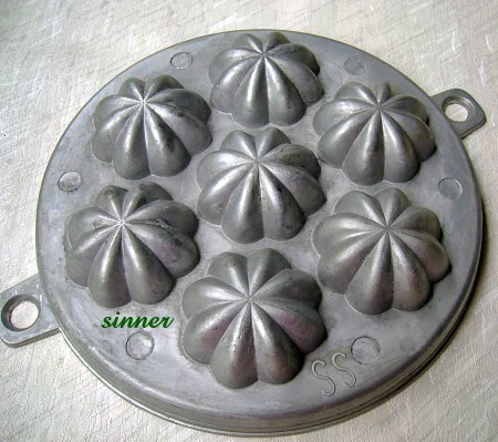 kueh buhulu traditional mould