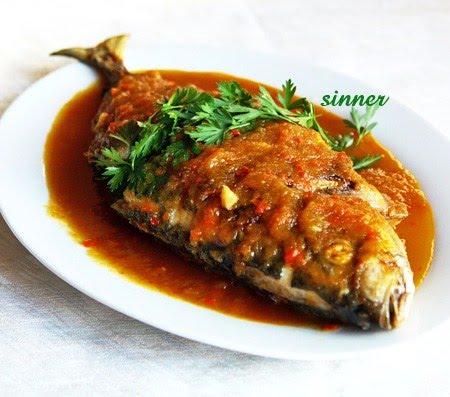 Thai 3 flavoured fish