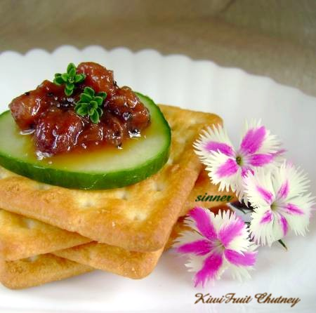 Kiwifruit Chutney