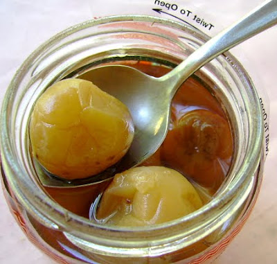 wet suen mui ~ preserved plums