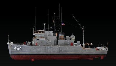 USS Pluck MSO 464