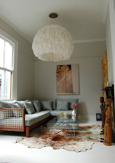 Fiela Feather Chandelier