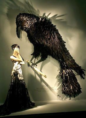 Crow by James Vance for Bergdorf Goodman