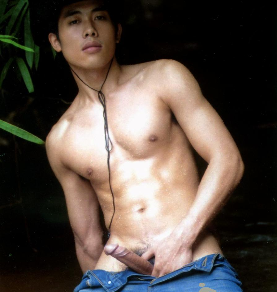 Can Asian male nudist you