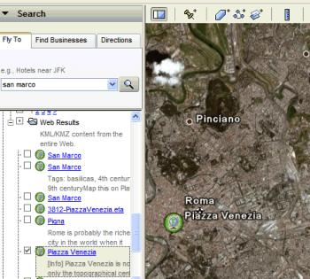 KML Search in Google Earth
