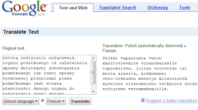 google translate update may 2008