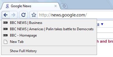 十个关于 Google Chrome 浏览器的使用技巧