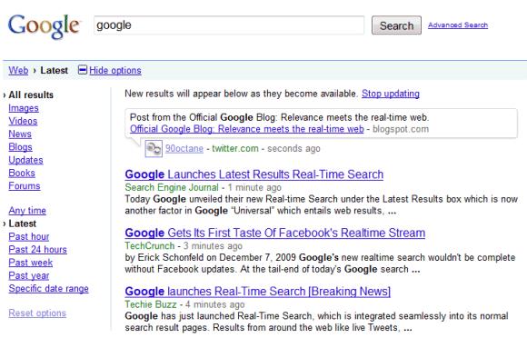 Google search by date in Brisbane