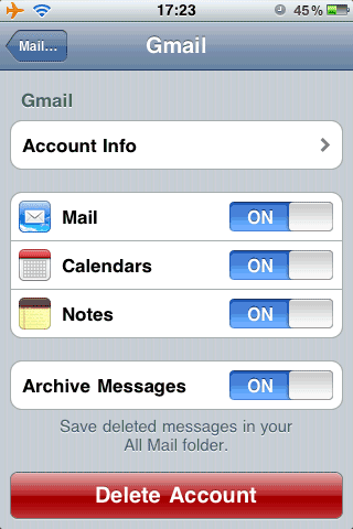 How to Access Gmail in iPhone Mail - About.
