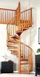 Escaleras De Caracol Escaleras De Madera Caracol - Escaleras-en-espiral