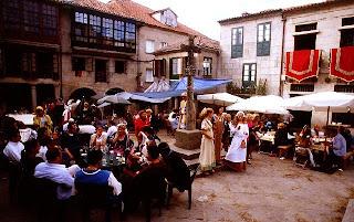 Feira franca Pontevedra - Fiesta Medieval