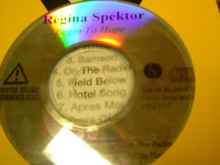 This CD belongs to David Greenwald