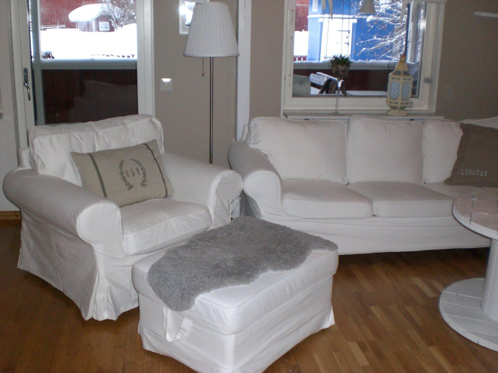 Lantligt i smultronbacken   my home: blekinge vit & oblekt linne