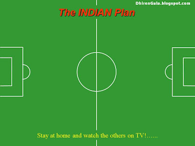 Indian Plan for World Cup Football 2010