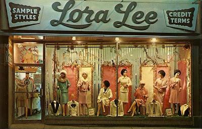 York Fashion Stores Online on New York   Circa 1950s