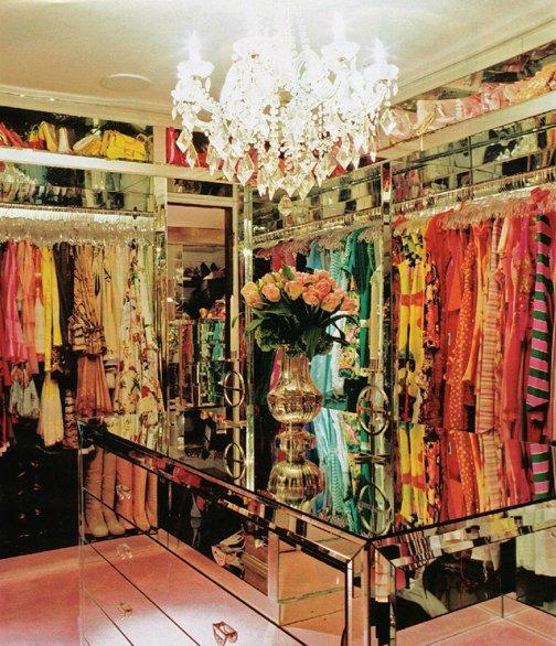 Dream closet. Walk in closet. Celebrity closets. Walk in closet ideas. Paris Hilton closet.