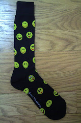 Men's Smiley Face Crew Socks