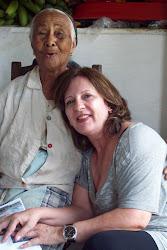 Lucinda Prado e D. Inlidia