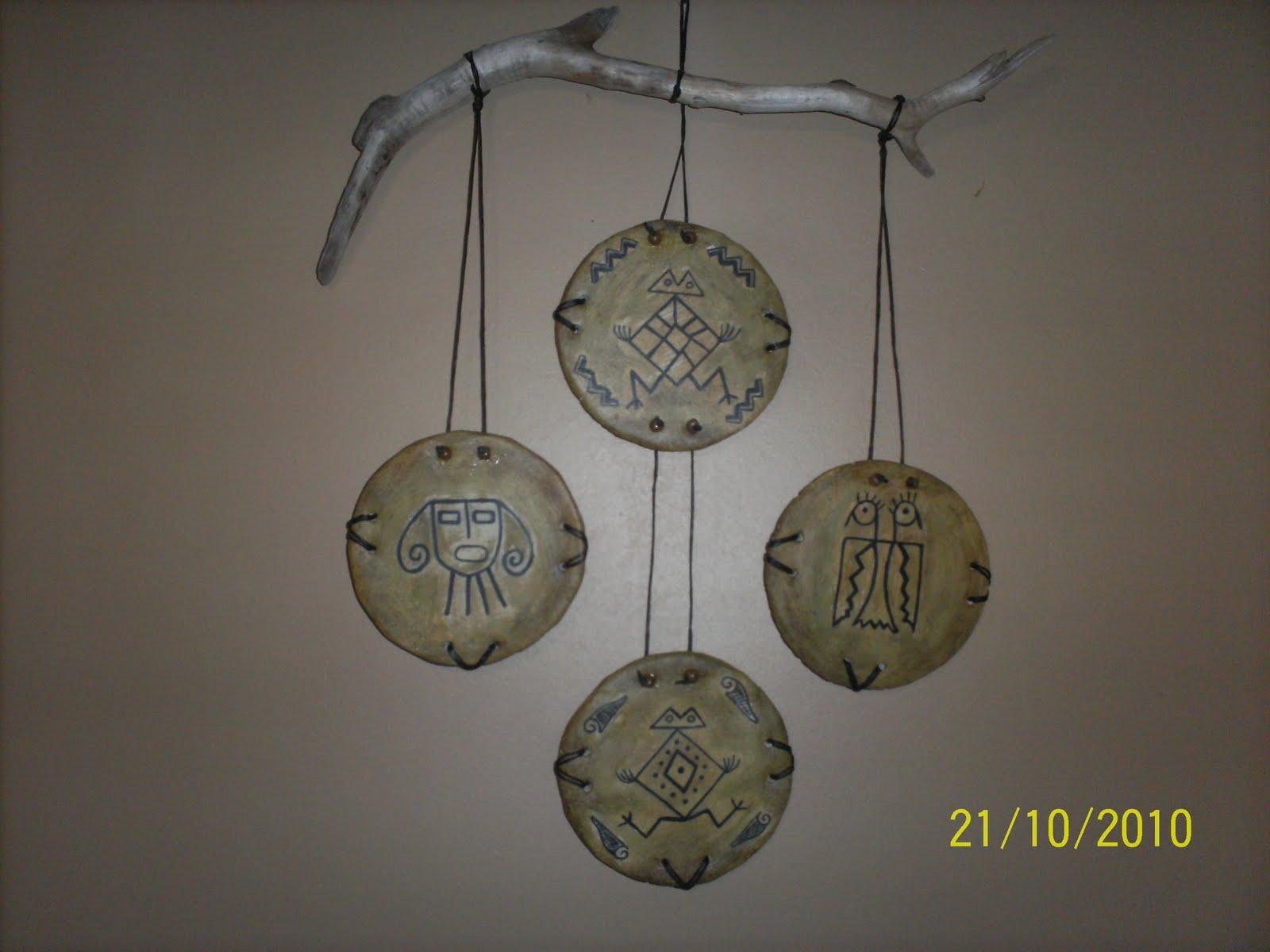 Artesanias en Papel: Cuarteto cuadritos papel mache con diseños ...