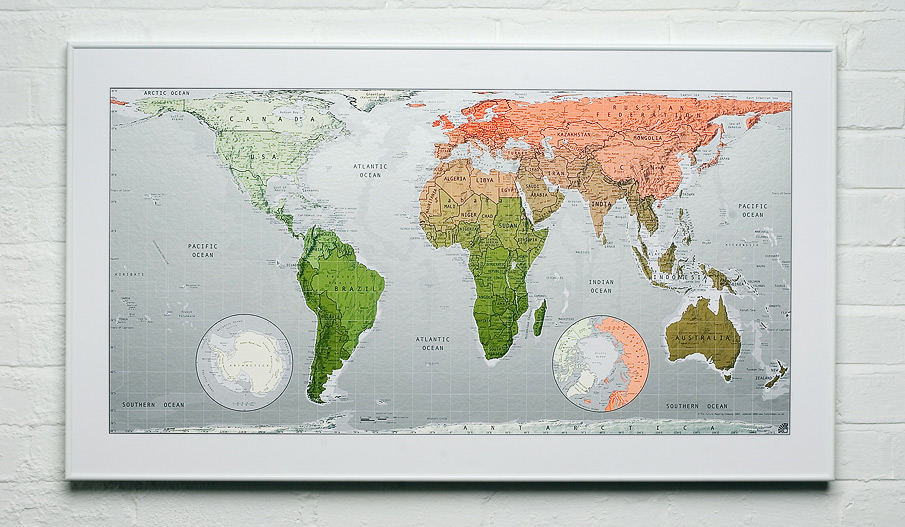 Ikea World Map