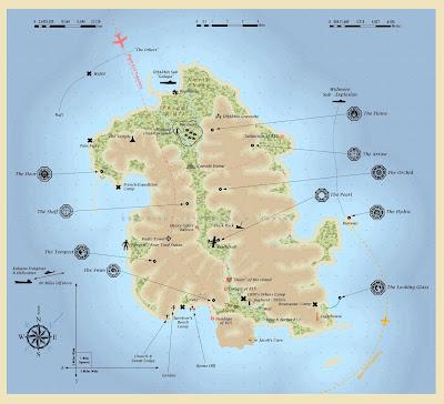 Lost'un Haritası