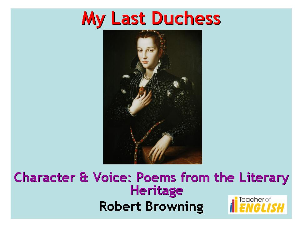 my last duchess essay plan Check your knowledge of robert browning's poem, 'my last duchess' with an interactive quiz and printable worksheet these study questions will aid.